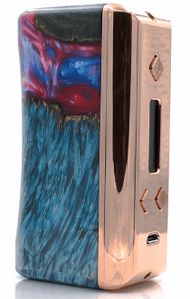 FLAWLESS TUGLYFE DNA 250W TC HYBRID STABILIZED WOOD BOX MOD