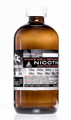 Nicotine e-liquid base