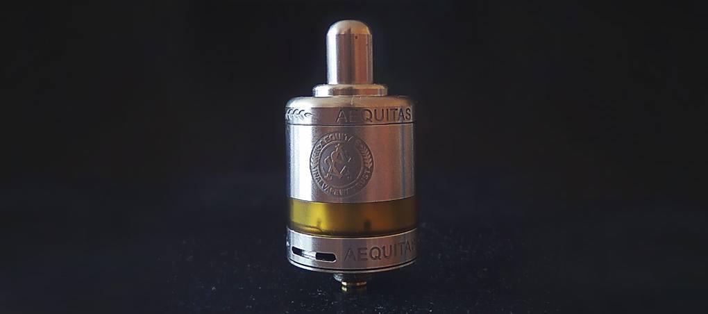 Asvape Zeta MTL RTA nicotine salt