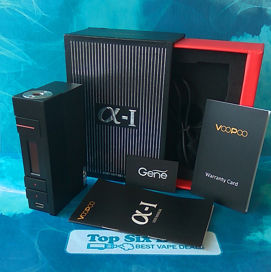 Voopoo Alpha One package Gene chip